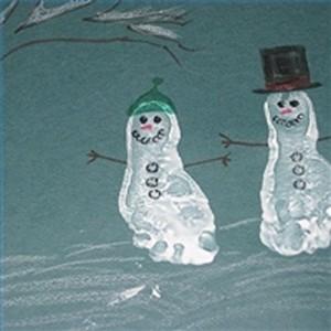 ayak baskı kardan adam (Kopyala)