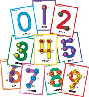 Okul Oncesi Sayi Calismalari on Touch Point Math