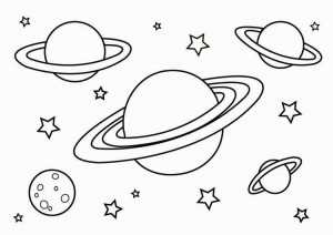 Space-and-Planets-Coloring-Pages-For-Kids