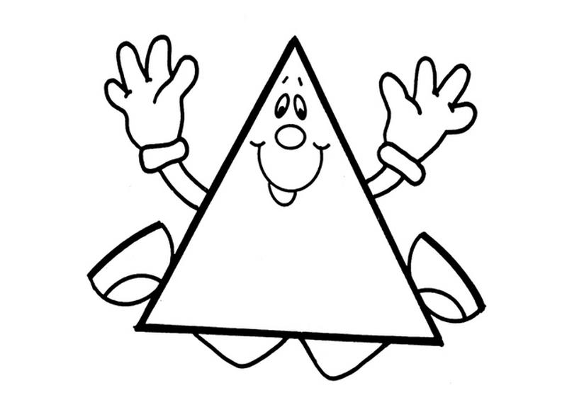 Треугольники раскраски