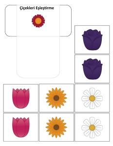 çiçekleri_eşleştirme