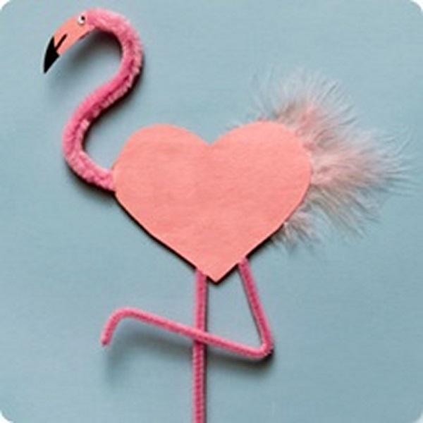 Валентинки своими руками птицы