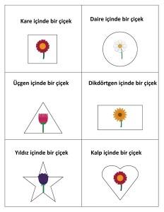 şekillerle_çiçekler
