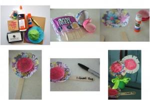 cupcake_kaplarından_çiçek_yapımı