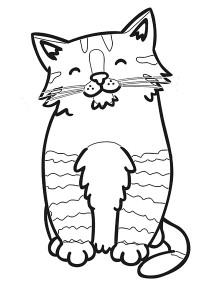 kedi_boyama