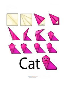 kolay_origami_kedi
