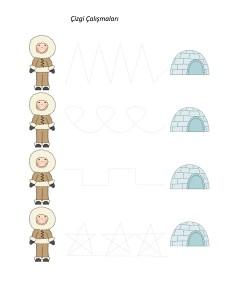 kutup_hayvanları_çizgi_çalışmaları