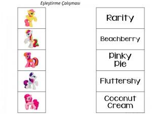 my_little_pony_eşleştirme