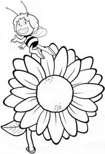 okul_öncesi_arı_maya_çiçek_boyama