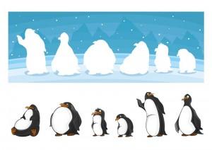 penguen_gölge_eşleştirme