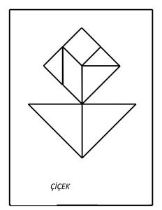 tangram_çiçek