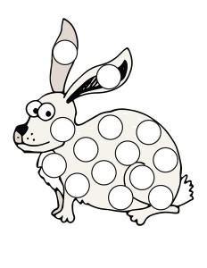tavşan_nokta_boyama