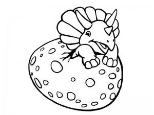 dinozor_boyama_çalışması