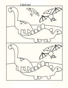 dinozor_farkı_bulma_çalışması