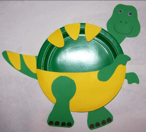 kağıt_tabaktan_dinozor_trex