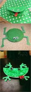 kağıt_tabaktan_kurbağa_yapımı