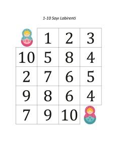 matruşka_sayı_labirenti