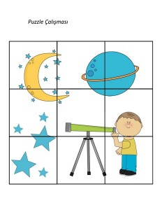 okul_öncesi_dünya_uzay_puzzle_çalışması
