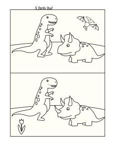okul_öncesi_dinozor_beş_farkı_bul