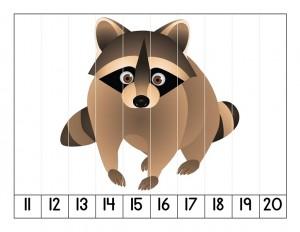 orman_hayvanları_puzzle_çalışması