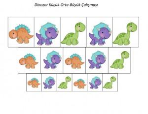 dinozor _küçük_orta_büyük