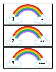 okul_öncesi_sayı_kartları_gökkuşağı
