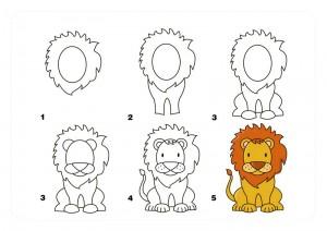 aslan_nasıl_çizilir