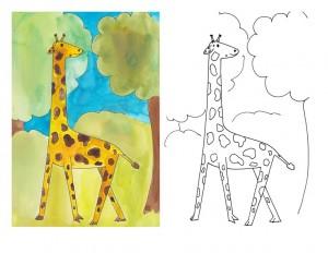 boyama_zürafa