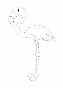 eğlenceli_çizgi_tamamlama_çalışmaları_flamingo