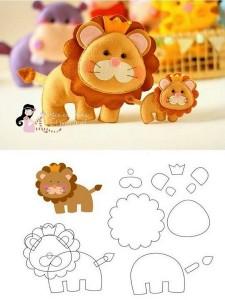 keçeden_hayvanlar_kalıpları_aslan (2)