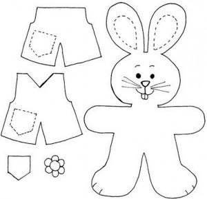 keçeden_hayvanlar_kalıpları_tavşan