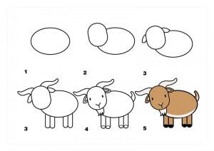 keçi_nasıl_çizilir