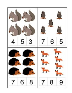 okul_öncesi_orman_hayvanları_sayı_çalışmaları