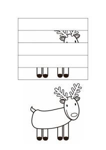 okul_öncesi_puzzle_resim_tamamlama_çalışmaları_geyik