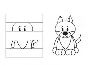 okul_öncesi_puzzle_resim_tamamlama_çalışmaları_kurt