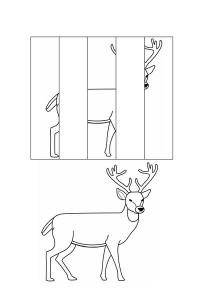 okul_öncesi_puzzle_resim_tamamlama_çalışmaları_ren_geyiği