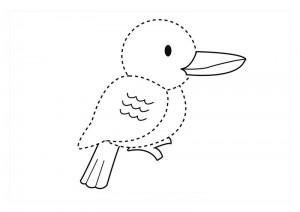 orman_hayvanları_çizgi_tamamlama_çalışmaları _kuşlar