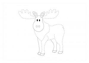 orman_hayvanları_çizgi_tamamlama_çalışmaları_geyik