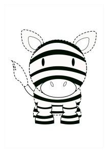 orman_hayvanları_çizgi_tamamlama_çalışmaları_zebra