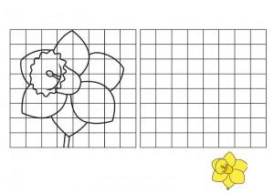 resmin_aynısını_çizme_sarı_çiçek