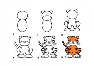 tiger_nasıl_çizilir