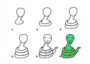 yılan_nasıl_çizilir