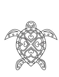yaz_boyama_deniz_kaplumbağası