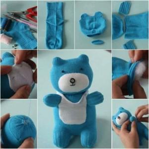 çoraptan_oyuncak_panda