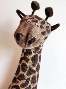 çoraptan_zürafa