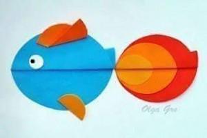daire_kağıtlardan_balık