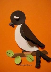 daire_kağıtlardan_kuş
