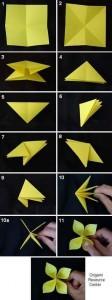 origami_harika_çiçek