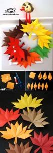 origami_kapı_süsü