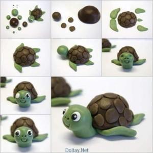 oyun_hamurundan_kaplumbağa
